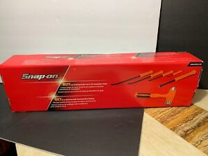 Snap On 4pcstriking Prybar Set 8 12 18 24 18 Demolition Chisel Spbsspdc320