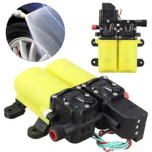 Electric Water Pump Auto High Pressure Diaphragm For Boat Marine Motor Pumps New