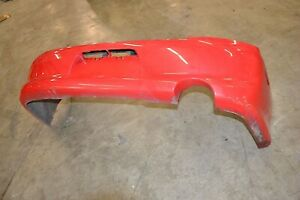 03 05 Mitsubishi Lancer Evolution 8 Oem Red Rear Bumper Cover Evo8 Ct9a