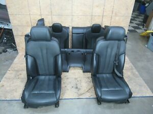 Interior Sport Leather Seat Set Seats Black Oem Bmw F06 650i 640i Gran Coupe
