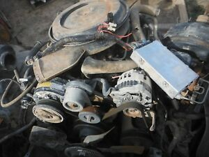 Chevy 5 7 350 Tbi Engine Complete Takeout W Harness Ecm Accessories