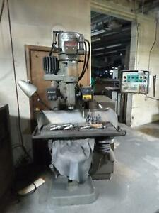 Bridgeport Series 1 Cnc 3 Axis Vertical Milling Machine a