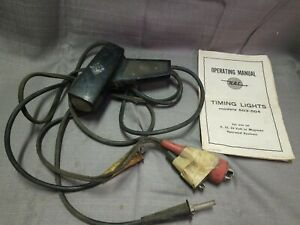 Rac Timing Light 503 504 Vintage Made In Usa 6 12 24 Volt Or Magneto Systems