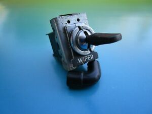 Oem Lucas Windshield Wiper Switch Switch Label For Sunbeam Alpine And Tiger