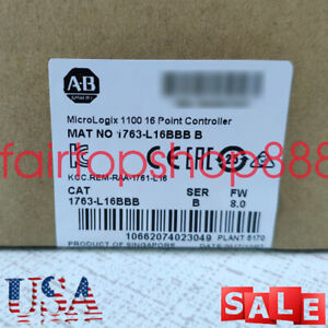 Factory Allen bradley 1763 l16bbb Micrologix1100 16point Controller Warranty Usa