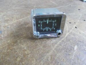 Mg Magnette Used Original Jaeger Clock