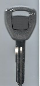 Replacement Transponder Key Blank Fits Honda Insight S2000 Accord Civic Odyssey