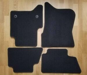 Gmc Sierra Crew Cab Pickup Truck Oem Jet Black 4 Piece Floor Carpet Mat Kit
