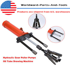 Usa Hydraulic Gear Puller Pumps Oil Tube Drawing Machine 15t