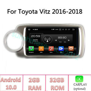Android 10 Car Dvd Player Stereo Radio For Toyota Yaris 2016 2018 Gps Navigation