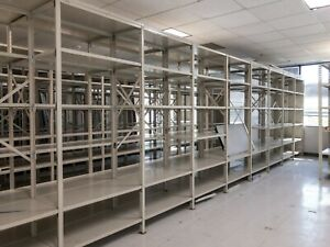 High Quality Industrial Steel Shelving Units In Great Condition