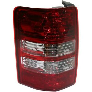 Driver Lh Left Side Fits 2008 2009 2010 2011 2012 Jeep Liberty Tail Lamp Light