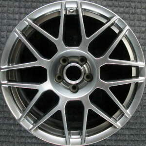Ford Mustang Hyper Silver 20 Inch Oem Wheel 2011 To 2012
