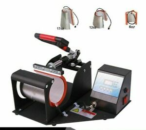 Mug Press Machine Sublimation Heat Printer Transfer 4 In 1 Cup Printing Machines