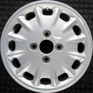 Honda Accord All Silver 15 Inch Oem Wheel 1996 To 1997