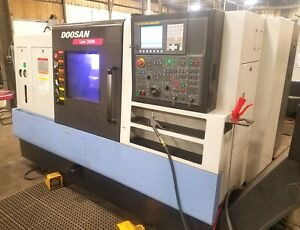 2013 Doosan Lynx 300m Cnc Lathe With Live Tooling