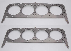 Cometic Mls Head Gasket Sbc Small Block Chevy V8 262 302 350 400 4 165 pair