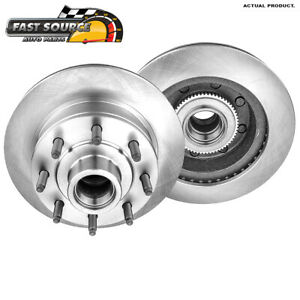 Front 331 Mm Brake Disc Rotors Pair For Ford E150 E250 E350 Econoline