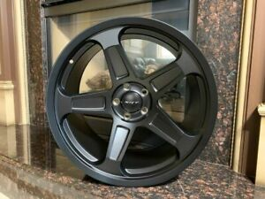 22 Demon Srt Style Wheels Rim Satin Black Fits Dodge Charger 392 Scat Pack