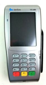 Verifone Vx680 3g Credit Card Terminal Wireless Backlit Display Rechargeable