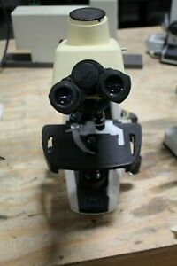 Nikon Eclipse E200 Microscope With 4 Nikon E Plan Objectives