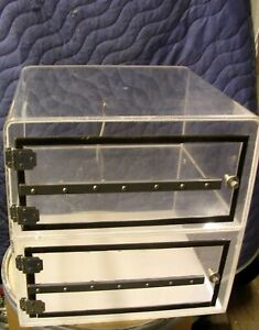 Contamination Control Corp Desiccator 2 Section Cabinet Dry Box