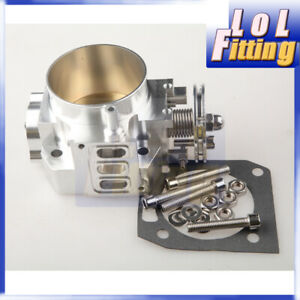 70mm Aluminum Throttle Body For Honda Rsx Dc5 Civic Si Ep3 K20 K20a