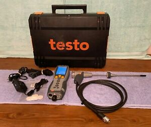 Testo 330 1 Commercial Industrial Combustion Analyzer Kit needs O2 Sensor