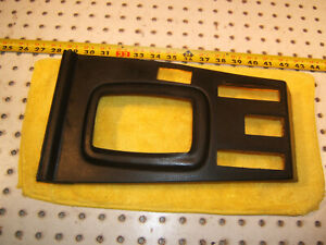 Mercedes W116 S Floor Shifter Center Console Black Oem 1 Cover 1166830036 Type 2