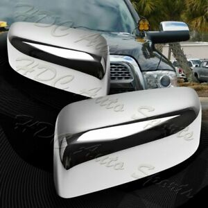 For 2009 2018 Dodge Ram 1500 Chrome Abs Side Mirror Cover no Turn Signal Cut
