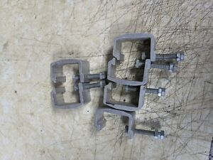 Camper Shell Clamps For Pick Up Lot Of 6