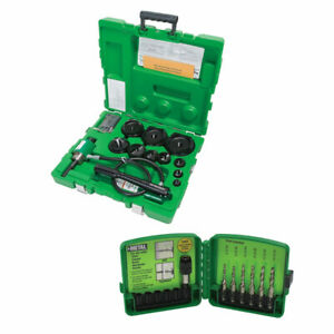 Greenlee 7310sb Hydraulic Slug Buster Punch Kit W dtapkit Combo Drill