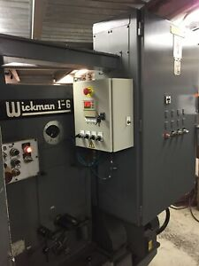 Wickman 1 6 Spindle Automatic Screw Machine Lathe With Feeder Rebuilt