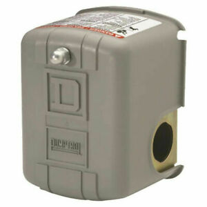 Square D Fhg12j52xbp Air Compressor Pressure Switch 95 125 Psi