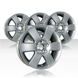 Revolve 15x6 Silver Wheel For 2003 2008 Toyota Matrix Set Of 4