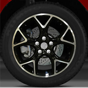 17x7 Factory Wheel black For 2012 2014 Ford Focus