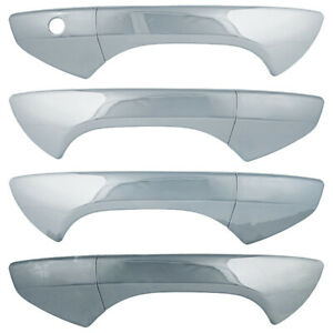 Door Handle Covers For 2008 2012 Honda Accord chrome Set Of 4