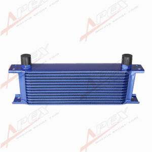 Universal 13 Row An10 Mocal Style Aluminum Oil Cooler For Engine Transmission