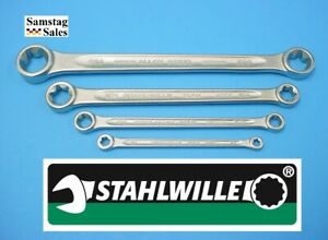Stahlwille Germany 21tx 4 Femail Torx Wrenches E6xe8 E10xe12 E