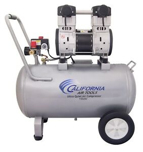 California Air Tools 15020c 2 Hp Ultra Quiet Air Compressor Used
