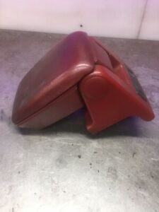 87 93 Mustang Scarlet Red Center Console Arm Rest Armrest Assembly