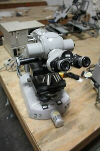 Zeiss Microscope W 5 Objectives Eyepieces Loaded