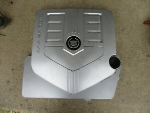Engine Cover Panel Oem 3 6l Cadillac C T Cts 2004 2005 2006 2007 V6 Plastic Used