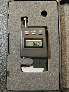 Electronic Digital Pocket Thickness Gage Tg e 0 15mm