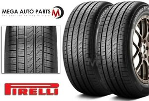 2 Pirelli Cinturato P7 All Season A s Touring Performance 205 55r16 91h Tires