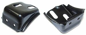 1962 1963 1964 1965 1966 Chevy Truck Rear Hood Bumper Bracket Pad Kit New