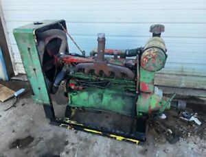 Good Running John Deere 6 329 6 Cyl Diesel Engine Power Unit With Rockford Pto