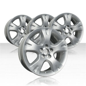 Revolve 16x6 5 Silver Wheel For 2003 2008 Toyota Matrix Set Of 4