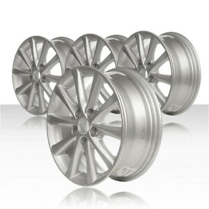 Revolve 16x6 5 Silver Wheel For 2010 2011 Toyota Camry Set Of 4