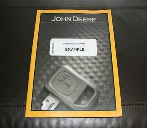 John Deere Skid Steers Operators Manual